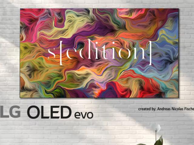 Con LG OLED TV la casa si trasforma in una galleria d'arte