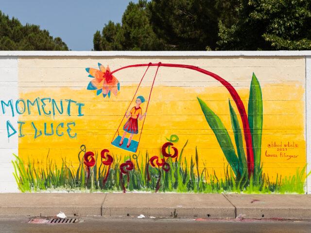 """""""Blood Artists"""" arriva a Palermo per sensibilizzare sull'anemia falciforme e sulla talassemia attraverso la street art"""